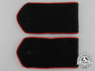 A Second War German Volunteer Army Cossack Legion EM Shoulder Straps