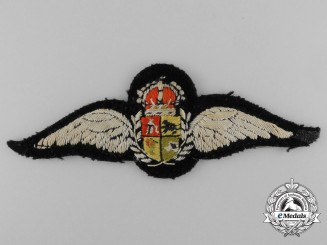 A South African Air Force Pilot's Wing c.1923