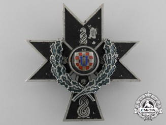 A Croatian Order of Iron Trefoil 1941-45; Second Class with Oakleaves