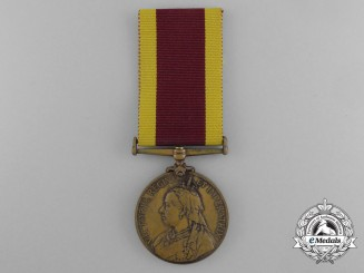 A 1900 China War Medal to the Butler of the 22nd Bo. Infantry