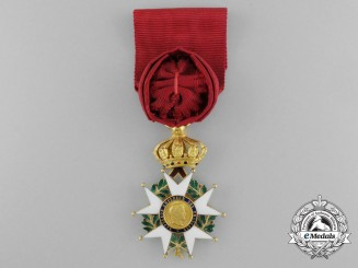 A French Order of the Legion of Honour in Gold; Second Empire (1852-1870)