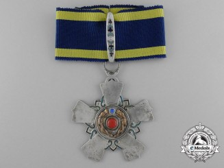 A Chinese Order of the Double Dragon; Second Class (1900-1912)