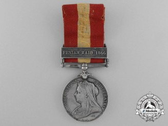 A Canada General Service Medal to the Cookstown Rifle Company
