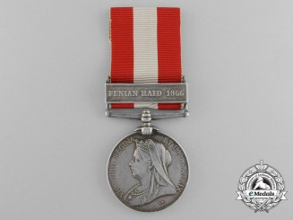 A Canada General Service Medal to the St. John Volunteer Battalion