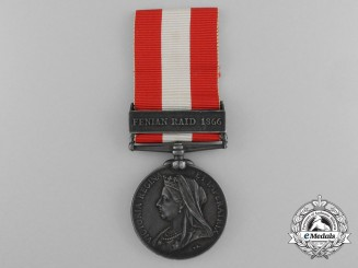 A Canada General Service Medal to the Buckingham Infantry Company
