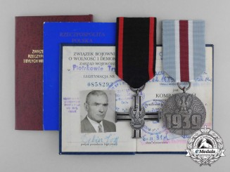 A Polish Second War Pair to the Head of the Bureau for Veterans and Persons Persecuted