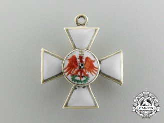 A Prussian Miniature Order of the Red Eagle in Gold