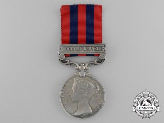 An India General Service Medal to the Hampshire Regiment