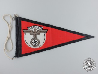 An NSKK Vehicle Pennant