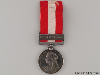 Canada General Service Medal - Red River 1870