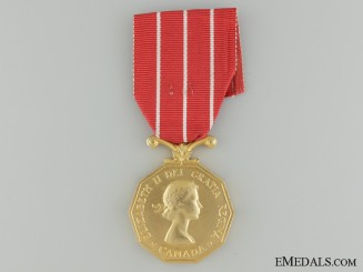 Canadian Forces' Decoration to Honourary Lieutenant-Colonel