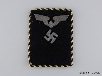 Collar Tab of Reichsbahn Staff; Pay Group 17a