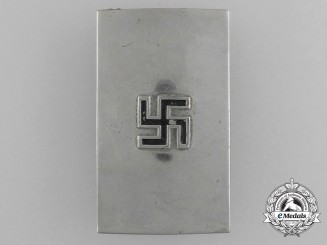 An Unusual & Unofficial NSDAP Jugend Belt Buckle; Published Example