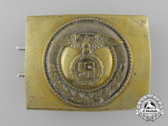 An Early SA Enlisted Man's Belt Buckle
