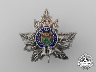 A First War 15th Infantry Canadian Battalion Sweetheart Badge