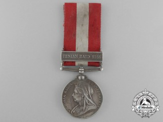 An 1866 Canada General Service Medal