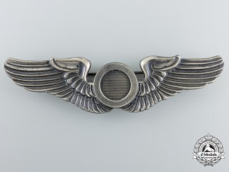 A Second War American Aircraft Observer Badge by N.S.Meyer
