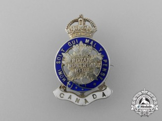 A First War 14th Canadian Infantry Battalion Sweetheart Badge