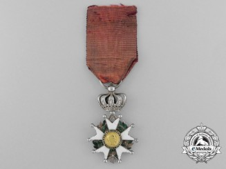 A Reduced Size French Legion D'Honneur; Knight, Second Empire (1852-1870)
