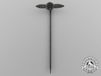 A Miniature Luftwaffe Fighter Squadron Clasp; Bronze Grade