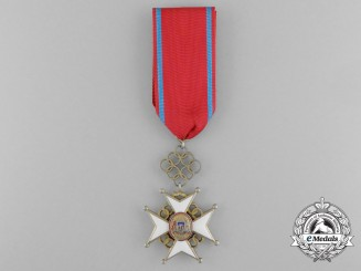 A 1938-1940 Latvian Cross of Recognition; Fourth Class