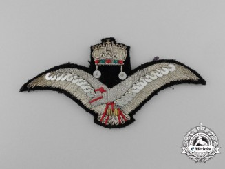 A Scarce Hungarian Air Force Cap Badge 1929-45