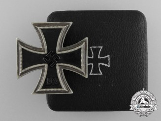 An Iron Cross First Class 1939 by Meybauer with Case