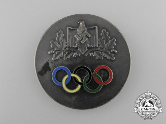 A 1936 Non Portable Olympic Relay Medal