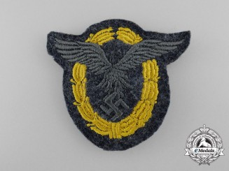 A High Quality Luftwaffe Pilot/Observer's Badge; Cloth Version
