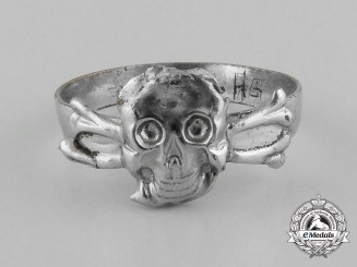 A German's 1930's Period Skull Ring