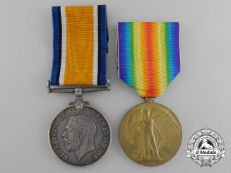 A First War Pair to the Private J. Richards; 8th South African Horse