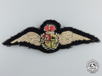 A Second War South African Air Force (SAAF) Pilot Wings