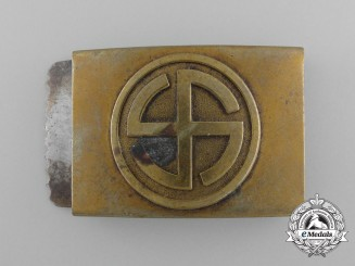 An Unusual SA/NSDAP Youth Supporter's Belt Buckle