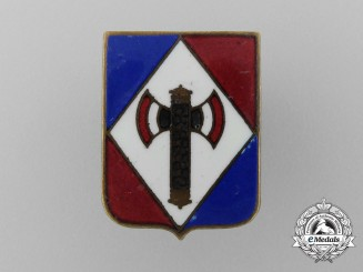 A Second War French Vichy Nationalist Membership Badge