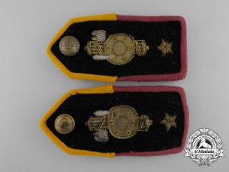 An Italian Fascist Youth Leader's Shoulder Boards
