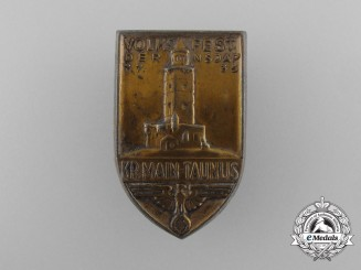 A 1936 NSDAP District Meeting in the Thousand-Year-Old Alsleben-Saale Badge