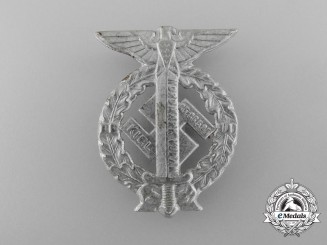 An Early 1930's Martyrdom Badge Dedicated to Albert L. Schlageter