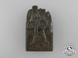 A 10-Year Anniversary of the NSDAP in Steinbach-Hallenberg Badge