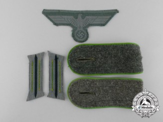 A Lot of Panzergrenadier Insignia