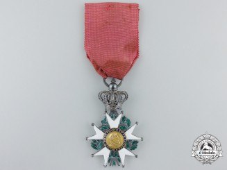 An 1814-1830 French Legion D'Honneur; Second Restoration Knight