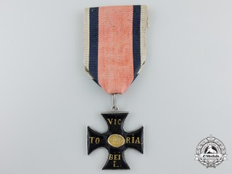 A Prussian Cross for the Battle at Leipzig & the Advancement of the Allied Troops into Paris on March 31st 1814