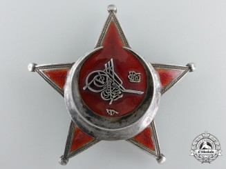 "A German Made Turkish 1915 Campaign Star (Iron Crescent), Marked ""950"""