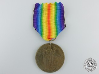 """A First War British """"The Great War Peace Proclaimed, June 1919"""" Medal"""
