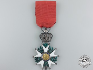 "An 1851 French Legion D'Honneur; Knight, Model ""La Presidence"""
