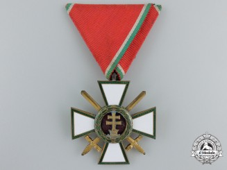 A Hungarian Order of Merit; Military Division 4th Class