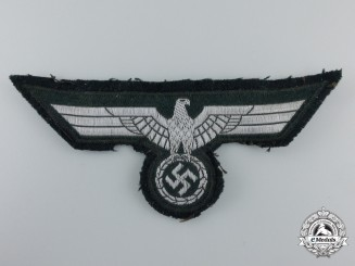 A Tunic Removed German Army Breast Eagle