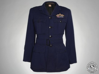"""A Royal Australian Air Force Tunic to W/O Robert """"Bobby"""" Bunting with 5 Victories"""