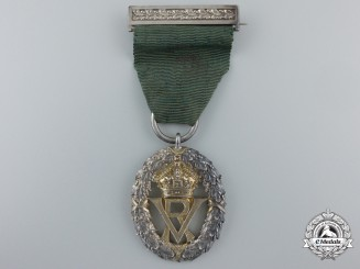 An 1892 Victorian Volunteer Officers' Decoration