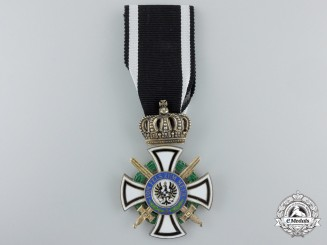 A Prussian House Order of Hohenzollern; Knight's Cross by Wagner