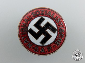 An NSDAP Party Badge by Hoffstatter